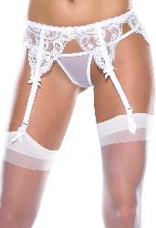 White lace garter belt 0407 Edmonton