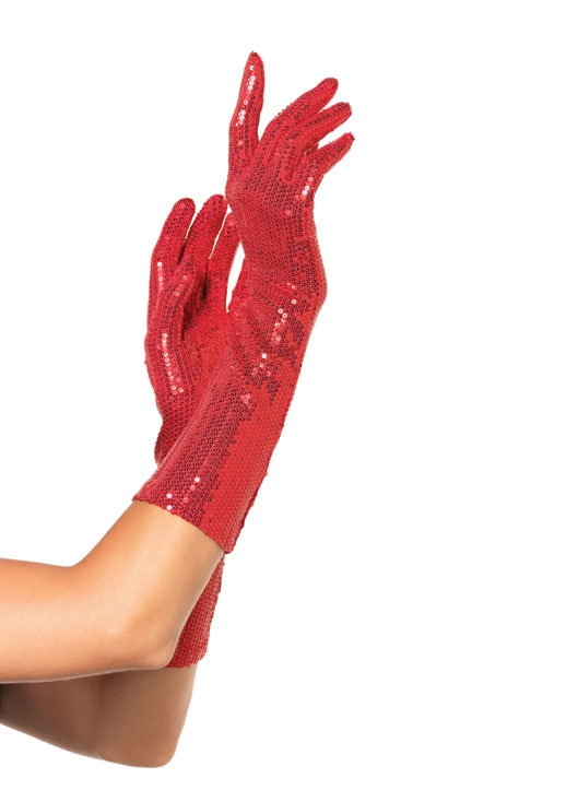 Elbow Length Sequin Gloves 2116 Edmonton