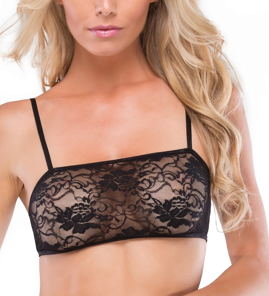 Stretch lace bandeau bra 0707 Edmonton