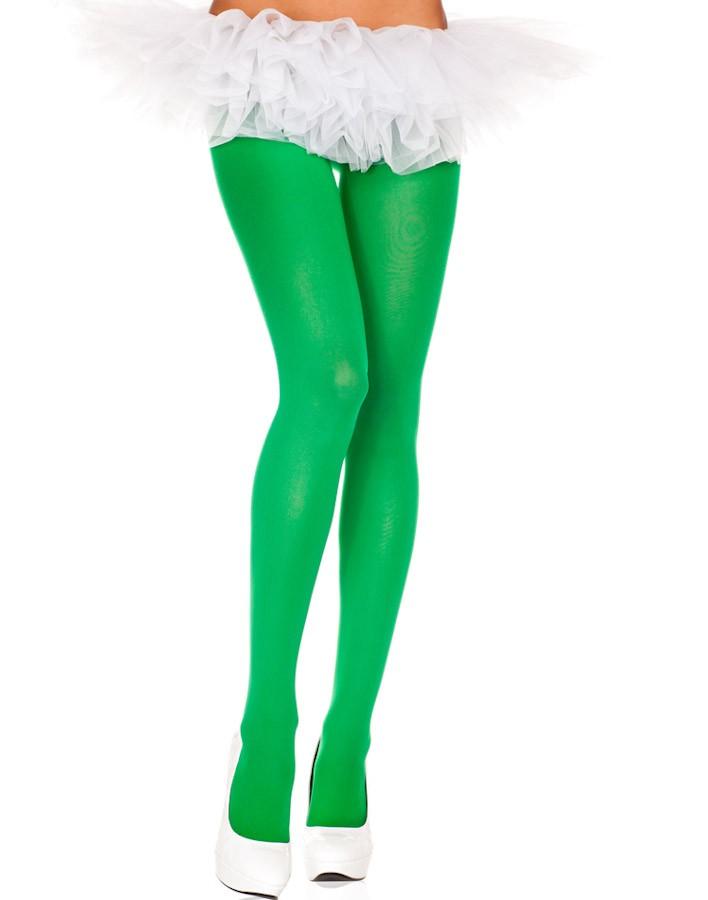 Green opaque pantyhose 0747 Edmonton
