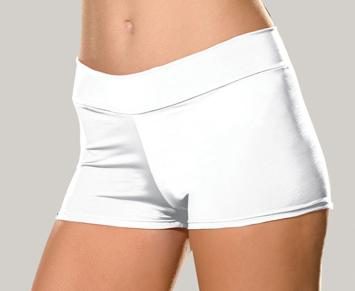 white stretch knit booty shorts 4575 Edmonton