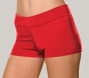 red stretch knit booty shorts 4575 Edmonton