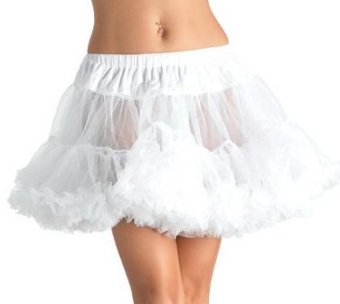 White Plus Size Petticoat Edmonton Crinoline