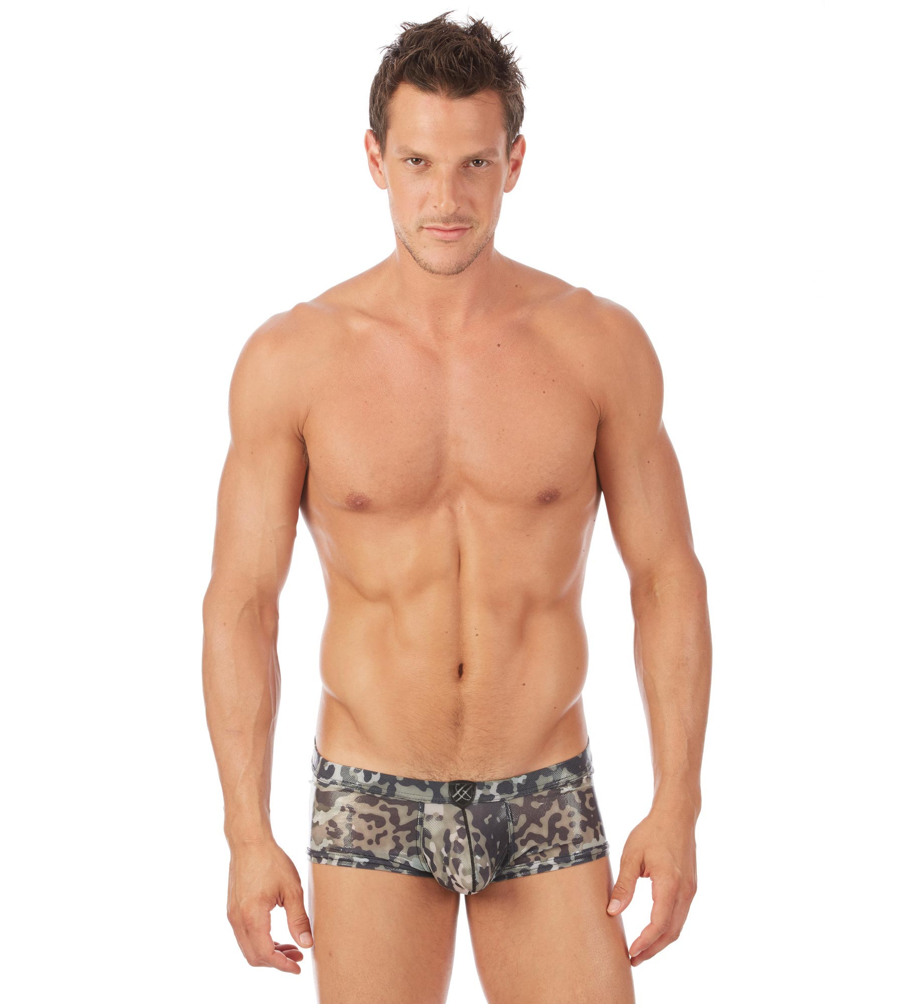 Wetlook camo boxer briefs 112305 Edmonton