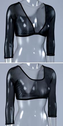 Wear UNDER your corset.