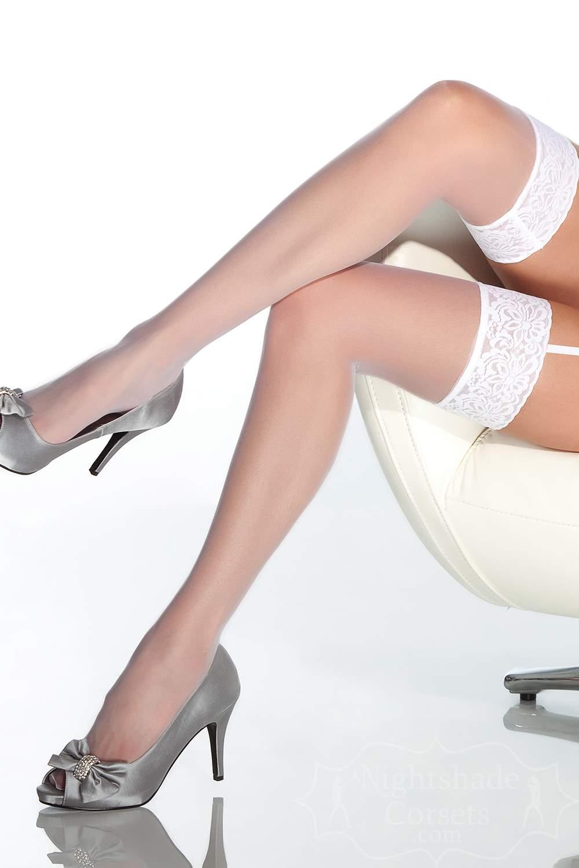 Sheerthigh high stockings lace top 1726 Edmonton