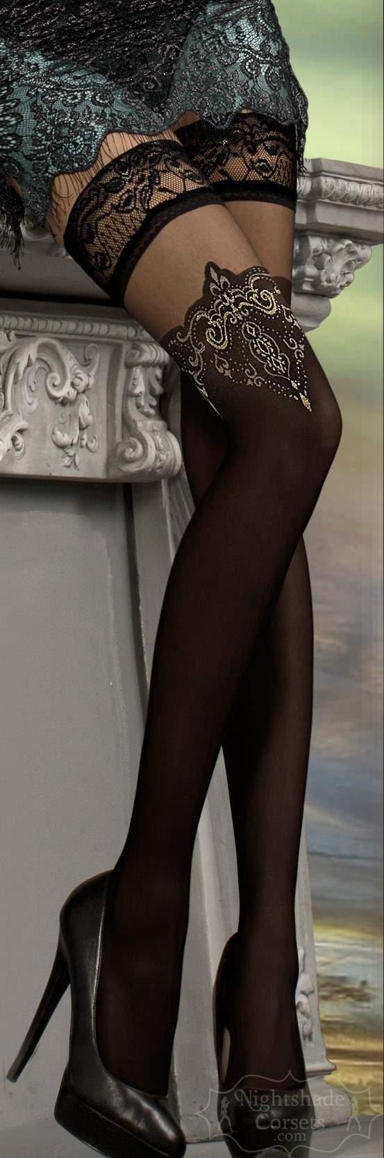 European-made stay-up stockings 0221 Edmonton