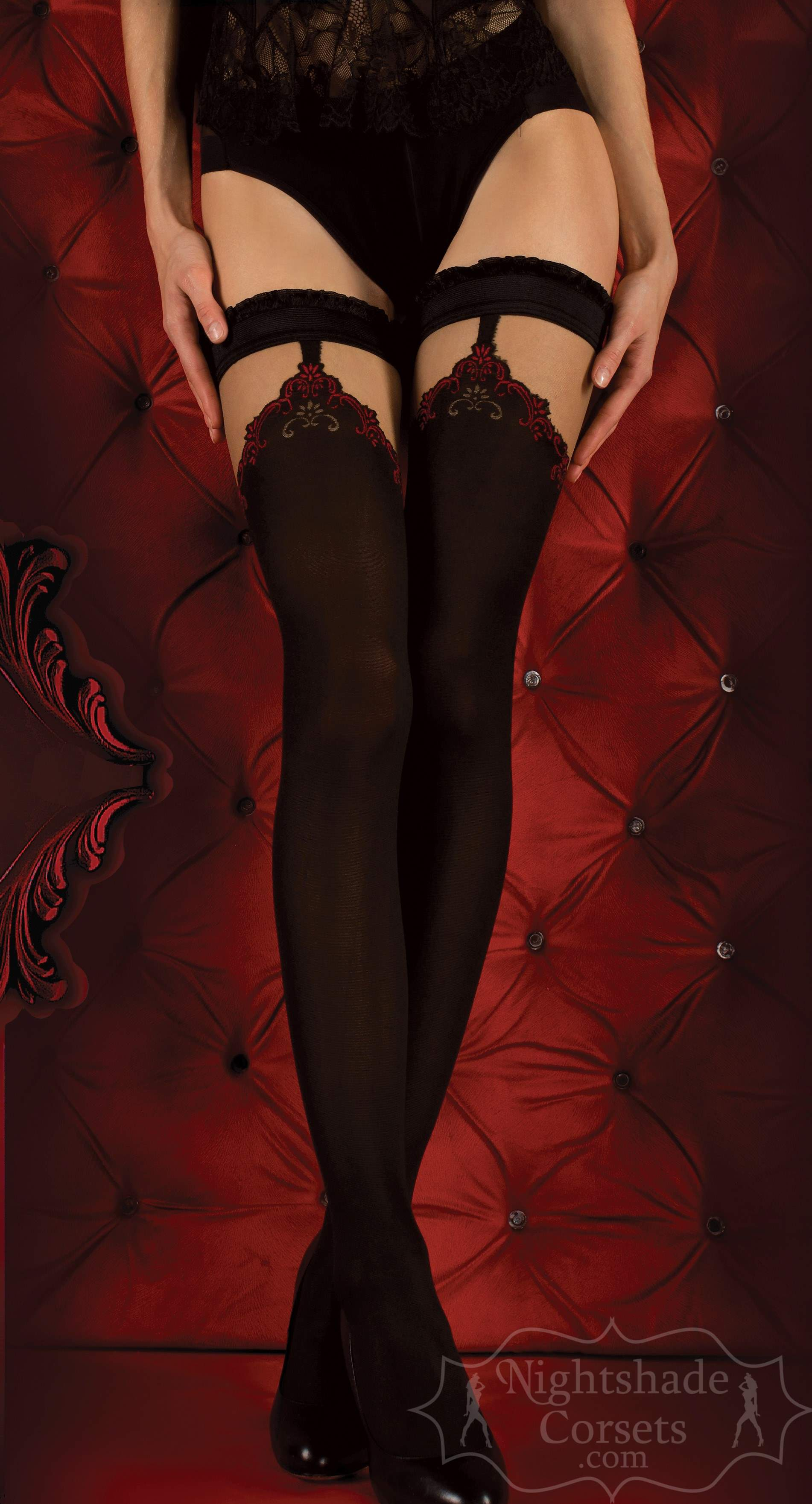 European-made stay-up stockings 0345 Edmonton