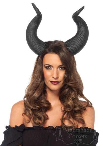 Maleficent Dark Queen Latex horns2155 Edmonton
