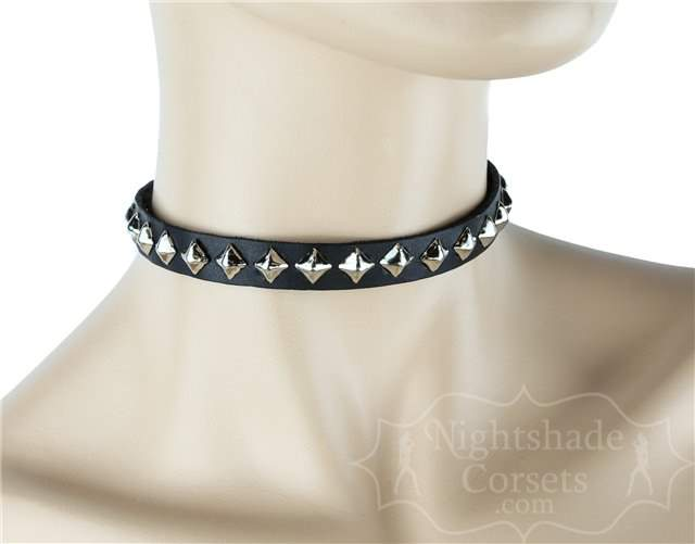 Studded Collar Single Row Diamond Shaped 0125 Edmonton