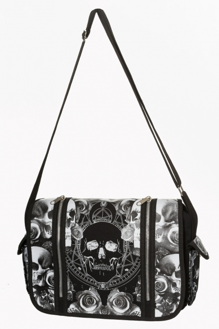 Skull Shoulder Bag Messenger 7147 Edmonton
