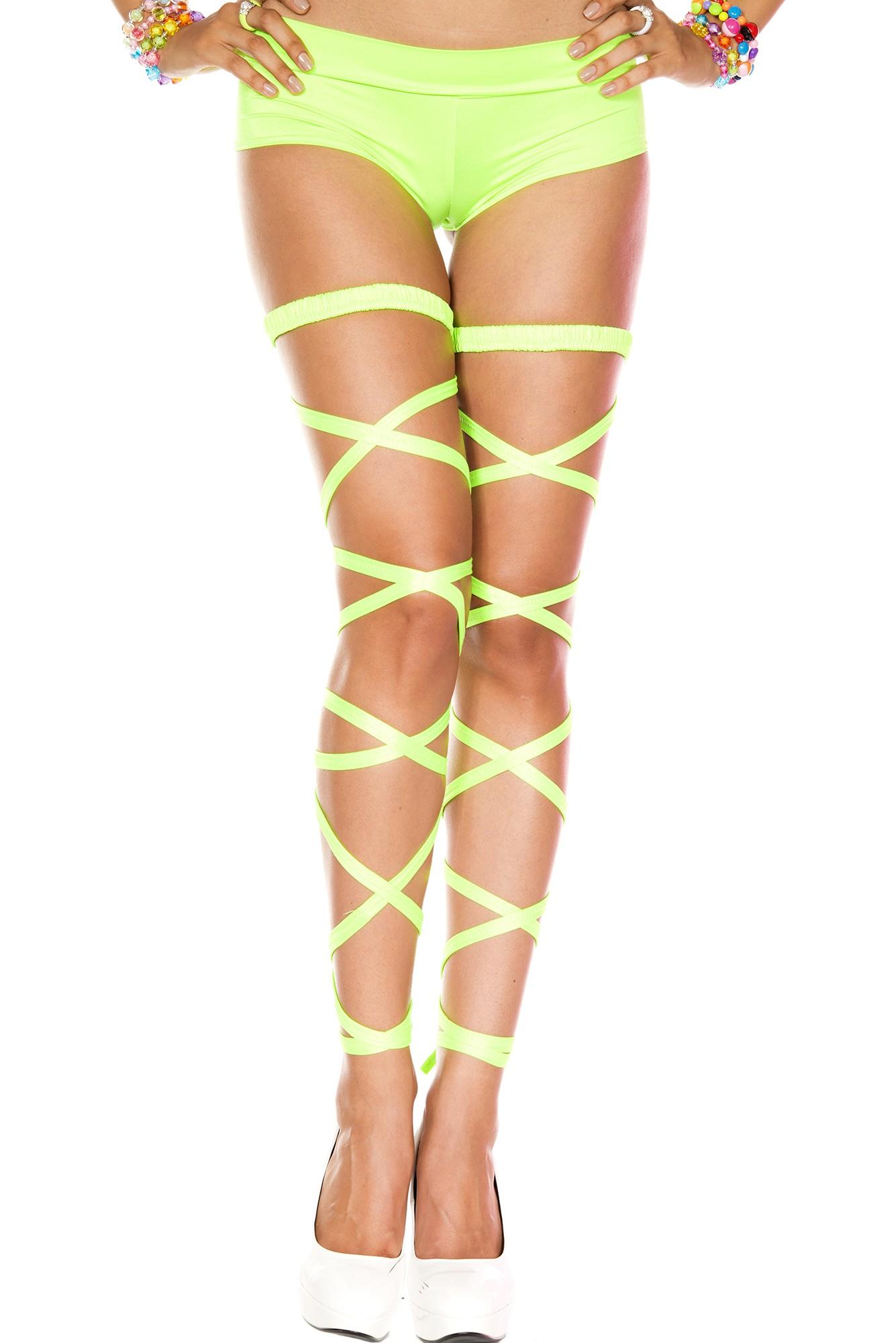 Leg wrap garter green 34004 Edmonton