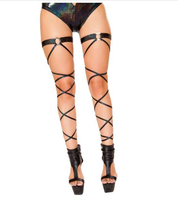 One leg wrap attached o-ring garter 3493 Edmonton