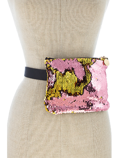 Pink Gold Pocket Belt Fanny Pack 2843 Edmonton