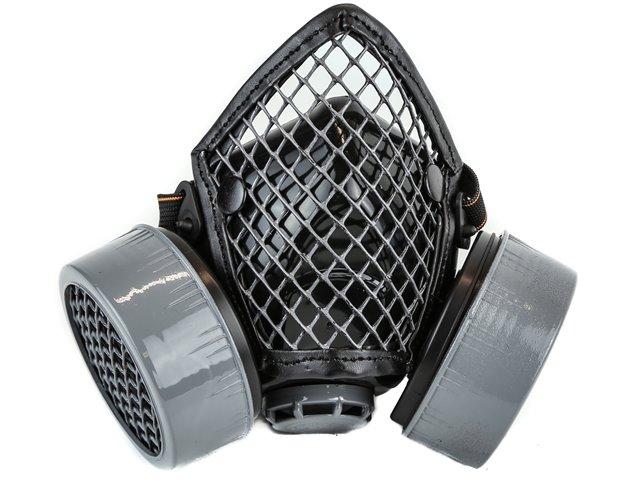 Black Gas Mask Silver Grill 1222 Edmonton
