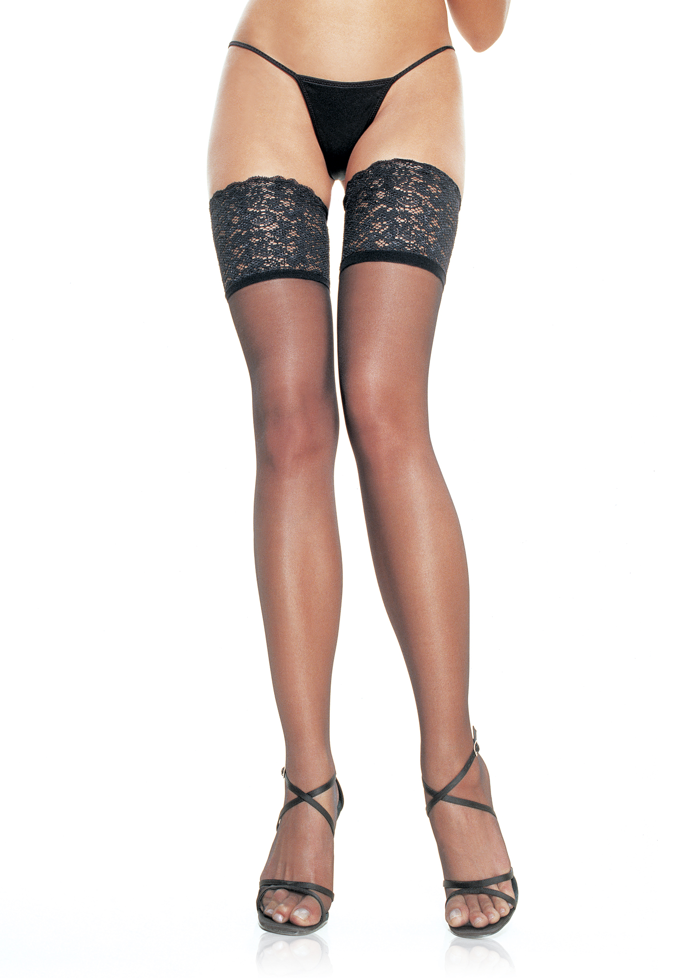Wide Lace Stay Up Stockings Edmonton