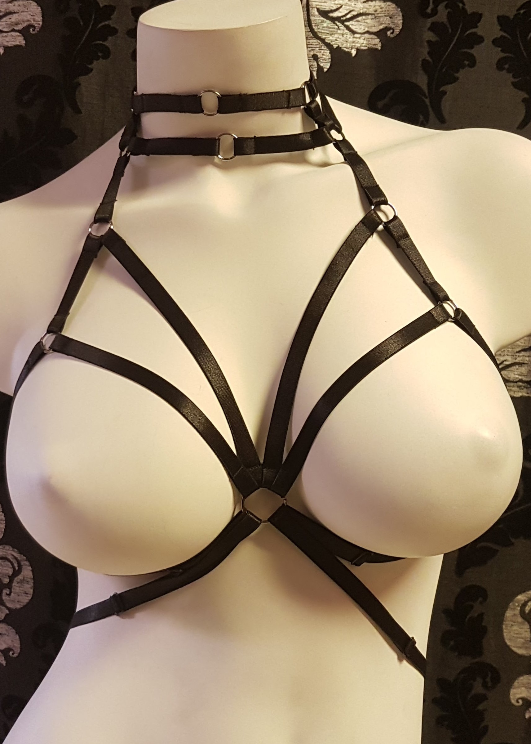Strappy elastic harness body cage 81535 Edmonton