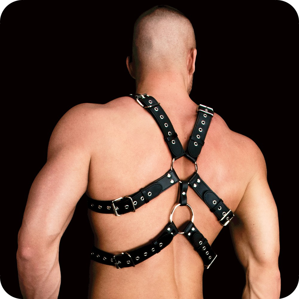 Faux Leather Harness 1243 Edmonton