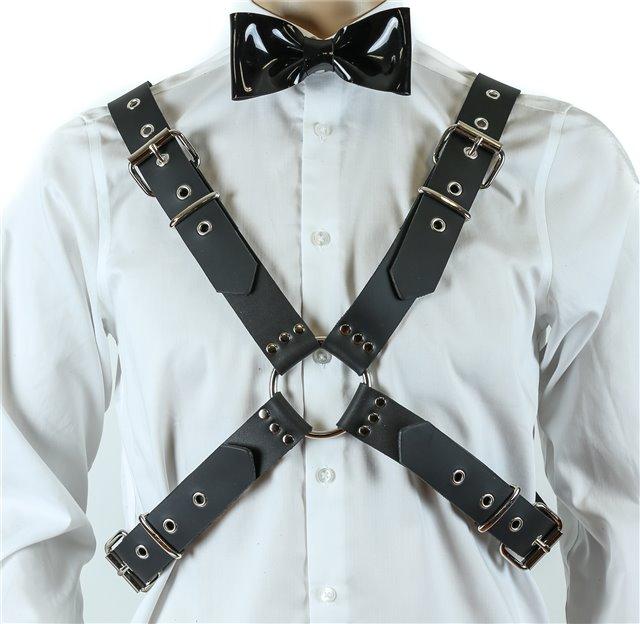 Classic Cross Matte Black Harness 0145 Edmonton