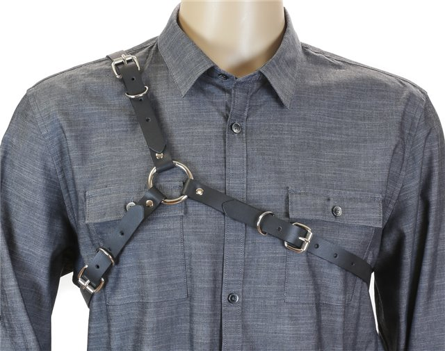 Leather Three Buckle Harness 1500 Edmonton