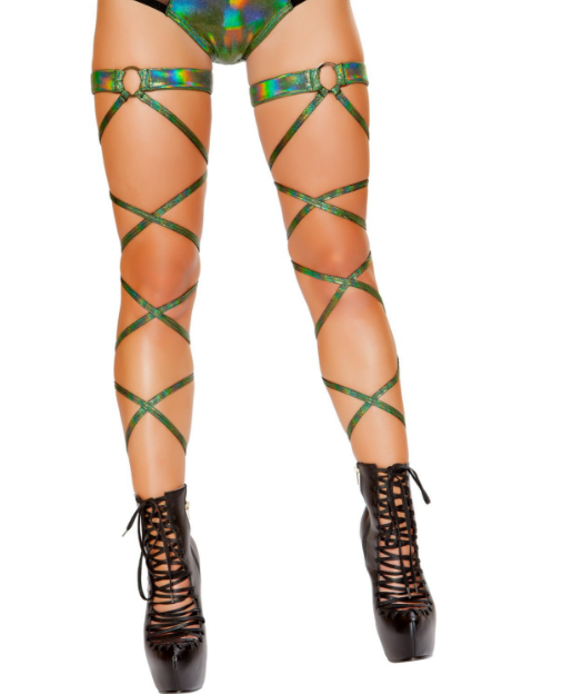Two leg wraps shown; the price is for one only.