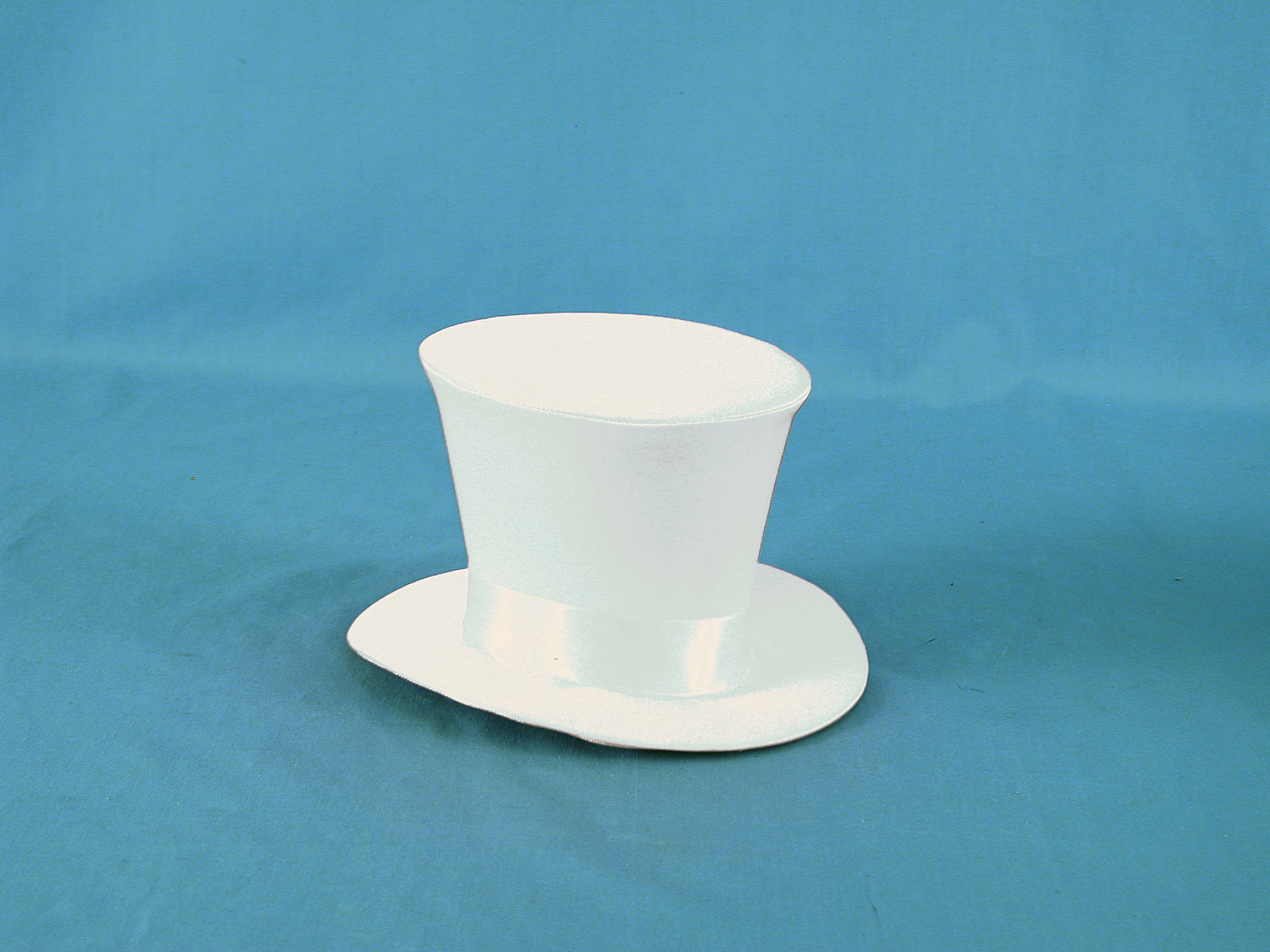 White satin mini top hat ribbon band 784761 Edmonton