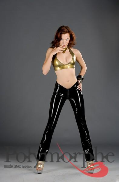Shown in Gold Latex