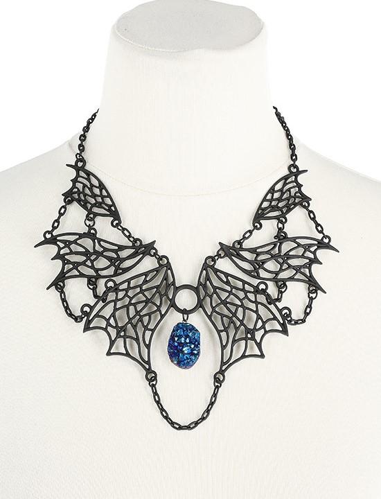 Elvish necklace rainbow crystal 4452 Edmonton
