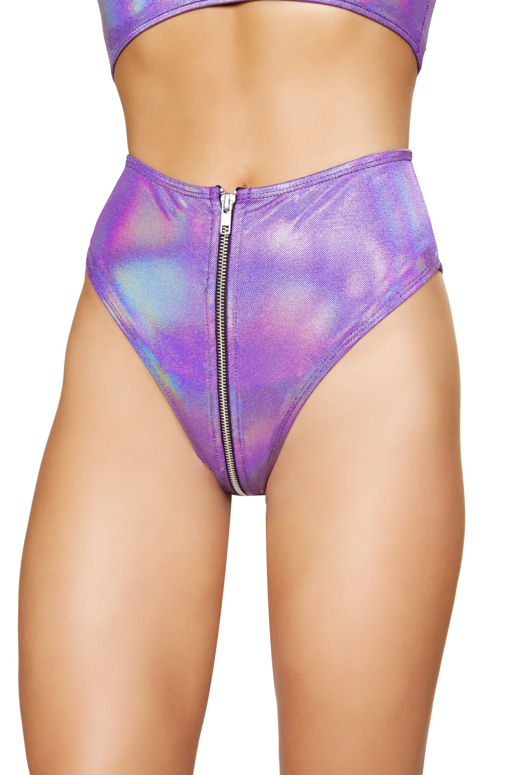 Spandex high waisted shorts front zipper 3538 Edmonton