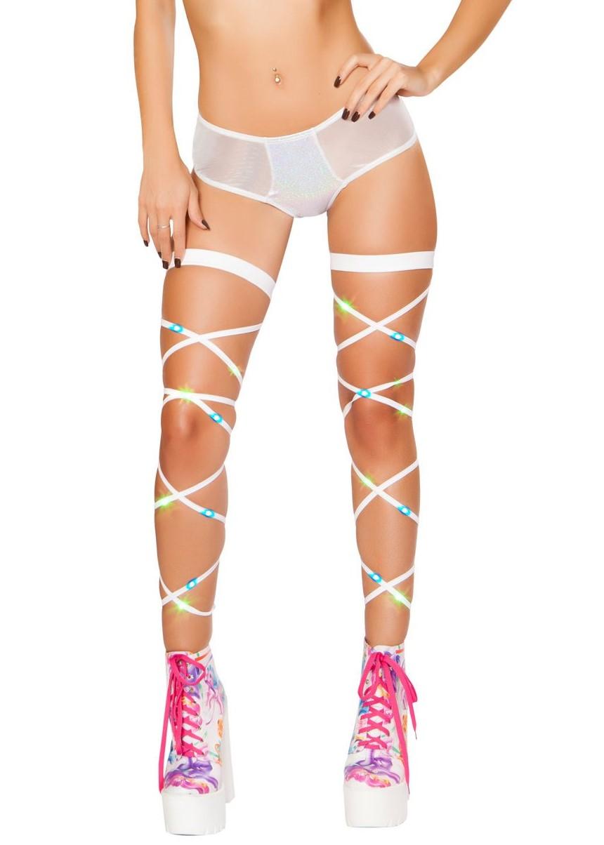 Mesh low rise shorts holographic spandex front 3247 Edmonton