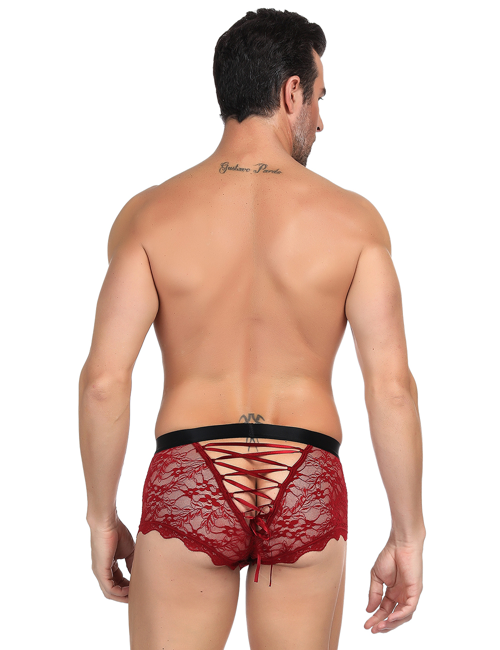 Men's lace underwear lace up back 11767 Edmonton