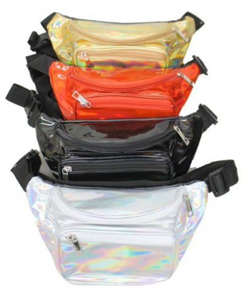 Holographic Fanny Pack Assorted Colors 0677 Edmonton