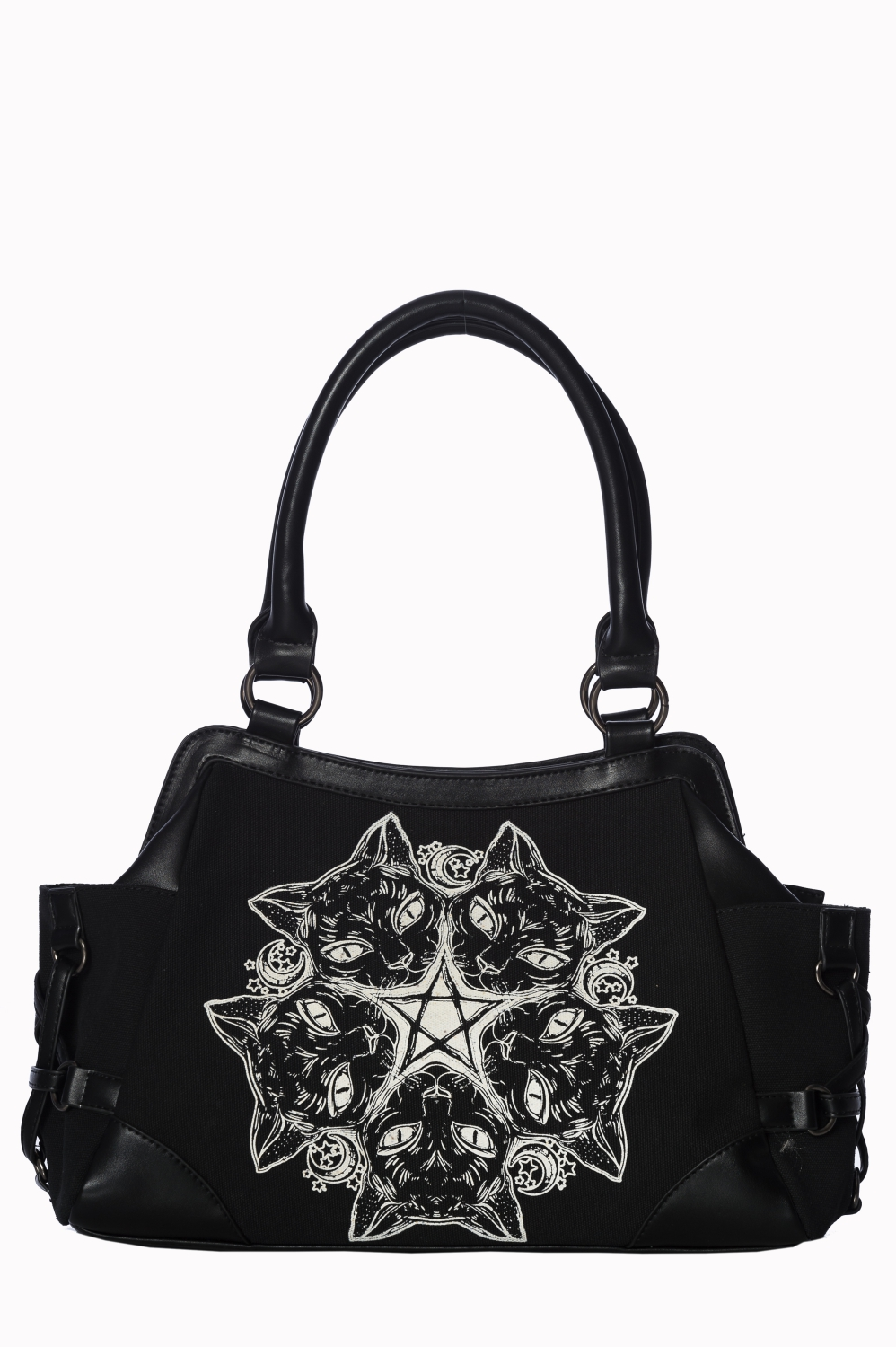 Black Cats Pentagram Purse 7245 Edmonton