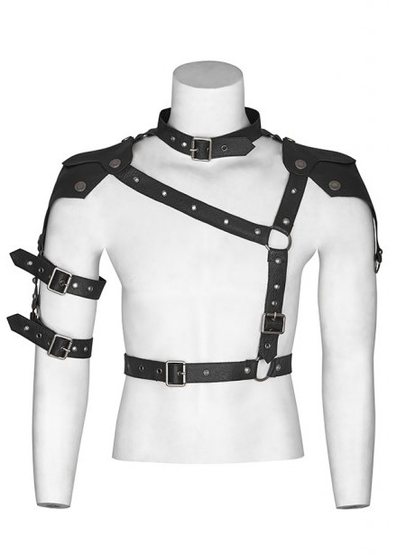 Faux Leather Armor Harness 0236 Edmonton