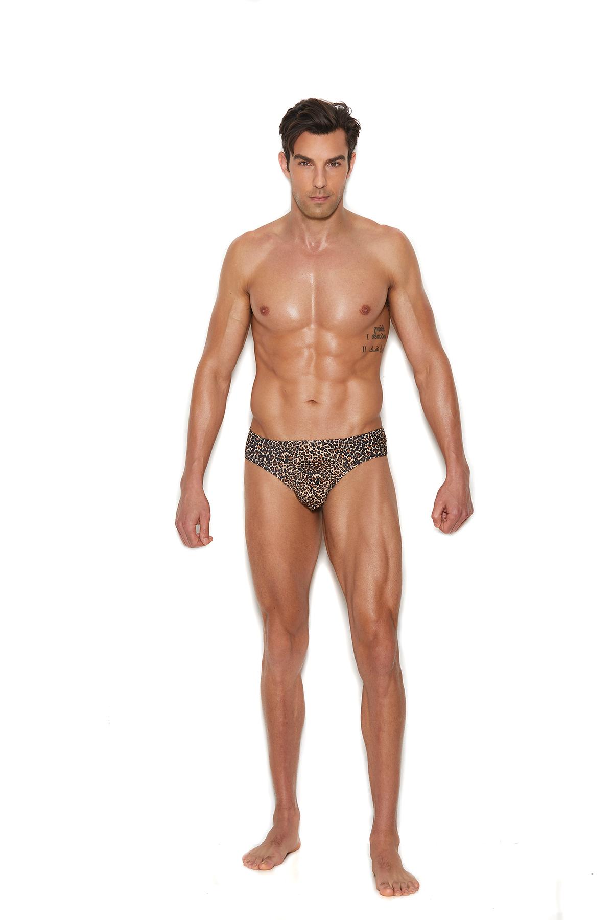 Men's leopard print thong 82205 Edmonton