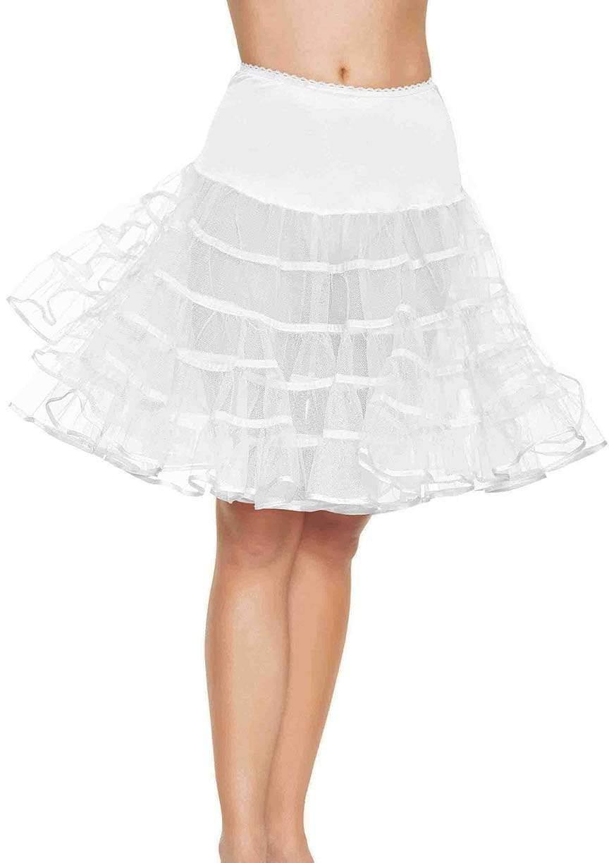 White Petticoat Dresses