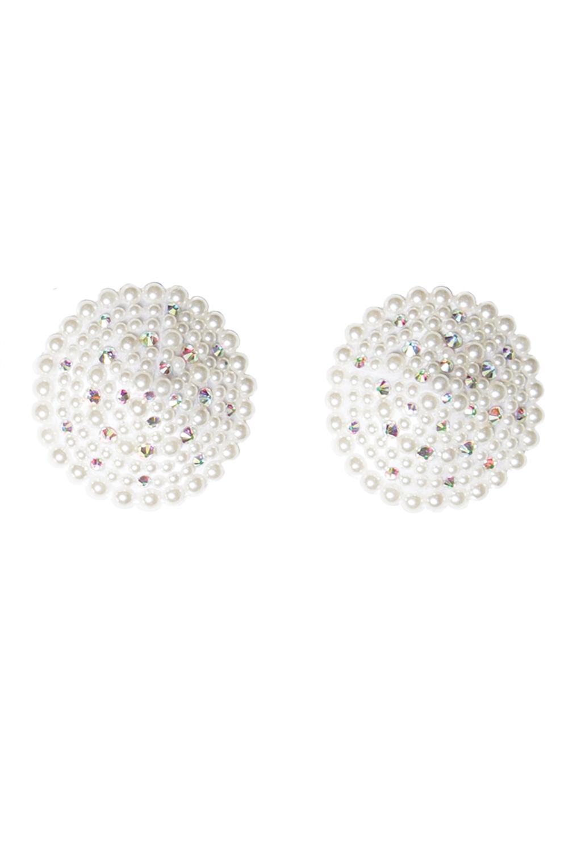 Elegant pearl & rhinestone pasties 7256 Edmonton