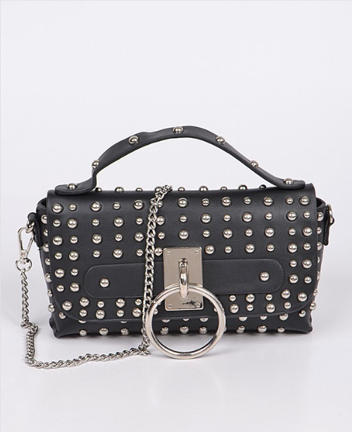 Vegan Leather Studded Purse 7064 Edmonton