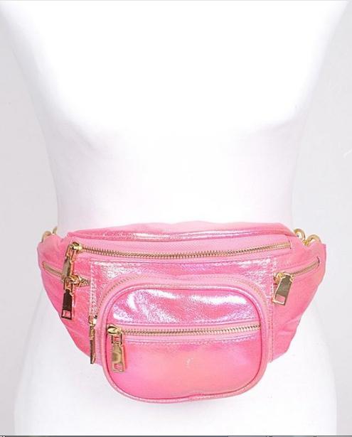 Shiny Pink Fanny Pack 7271 Edmonton