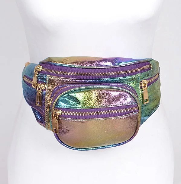 Shiny Rainbow Fanny Pack 7271 Edmonton