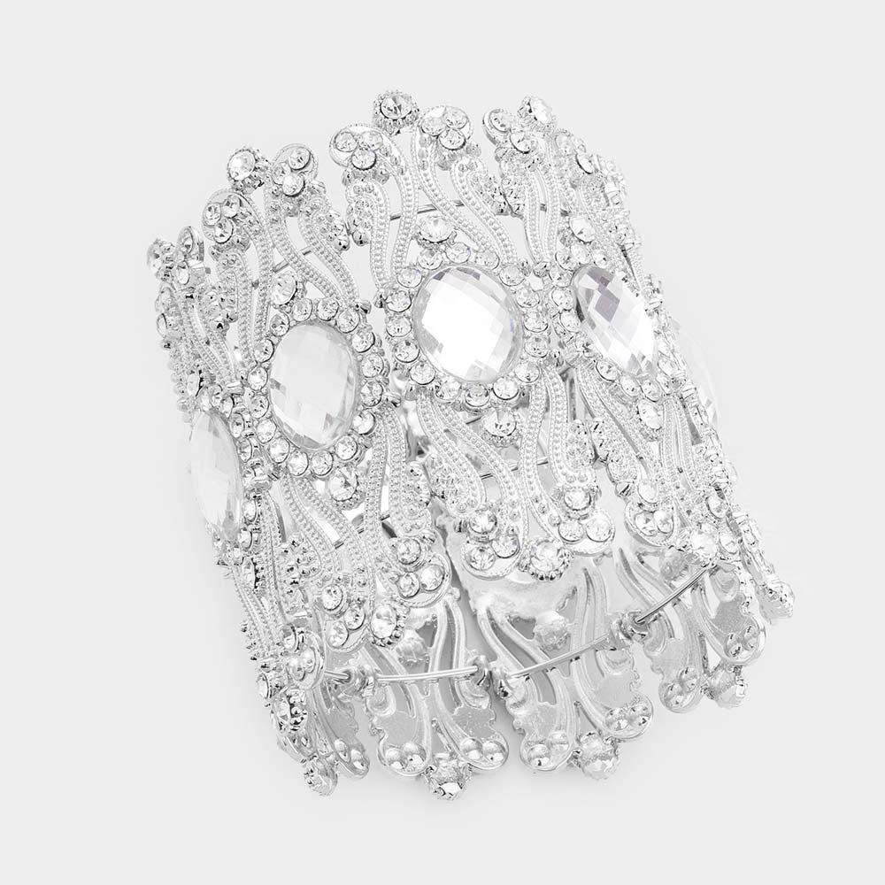 Sparkling rhinestone bracelet 474600 Edmonton