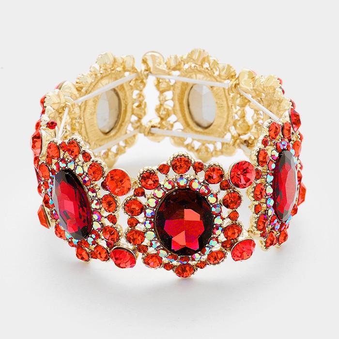 Sparkling rhinestone bracelet 325642 Edmonton