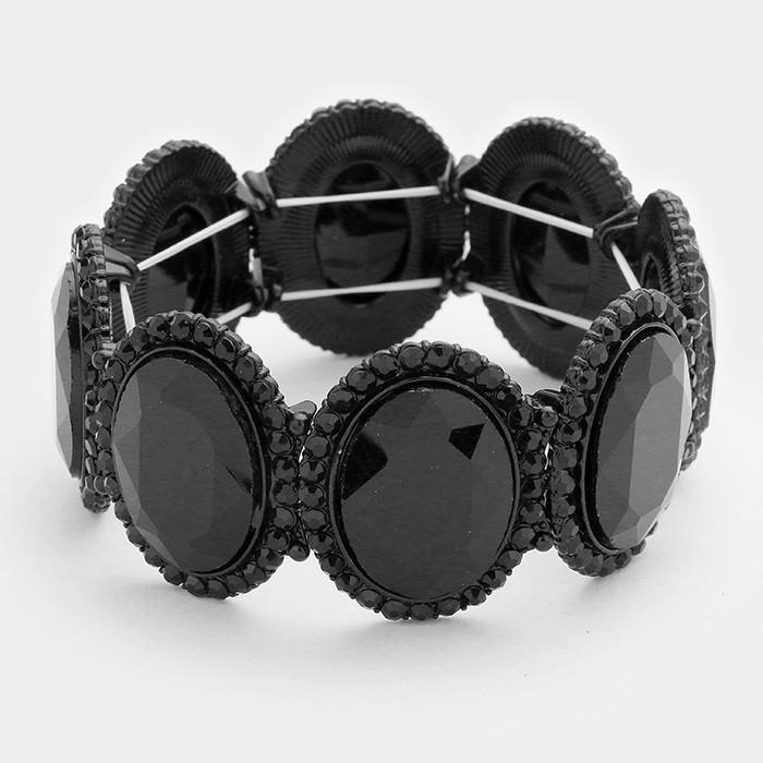Sparkling rhinestone bracelet 320463 Edmonton