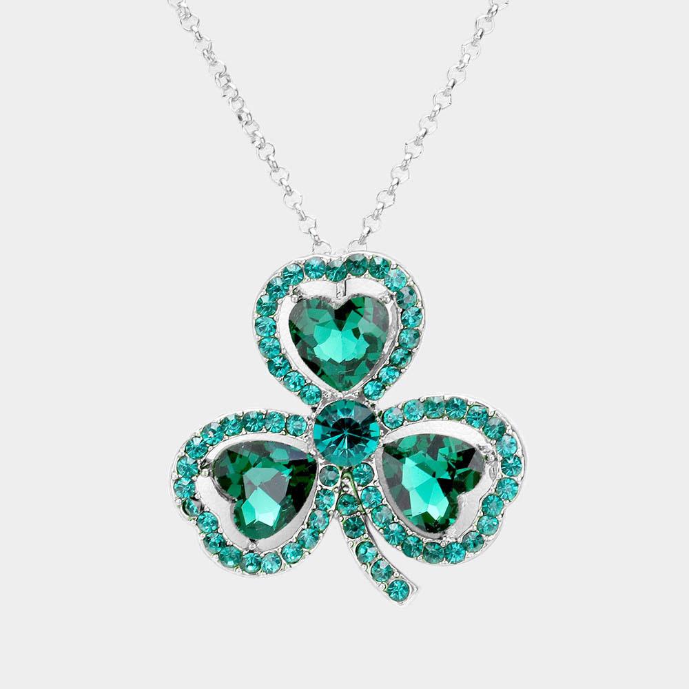 Sparkling rhinestone necklace 474118 Edmonton