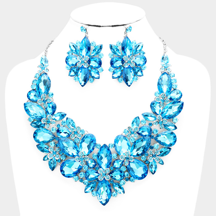 Sparkling rhinestone necklace matching earrings 397281 Edmonton