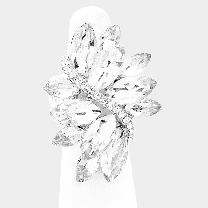Sparkling rhinestone ring 397204 Edmonton
