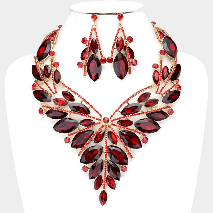 Sparkling rhinestone necklace 326413 Edmonton