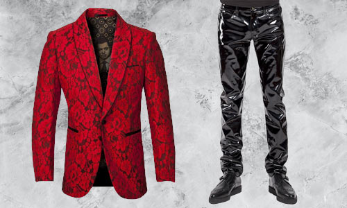 Alternative and gothic clothing for men