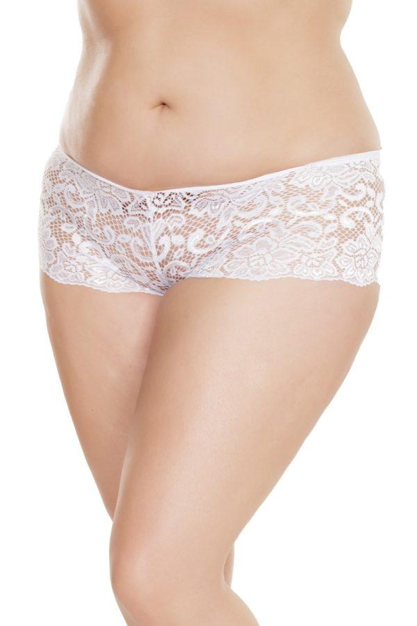 Plus Size White Lace Panties Edmonton