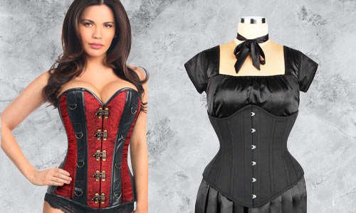 Authentic high quality steel boned corsets